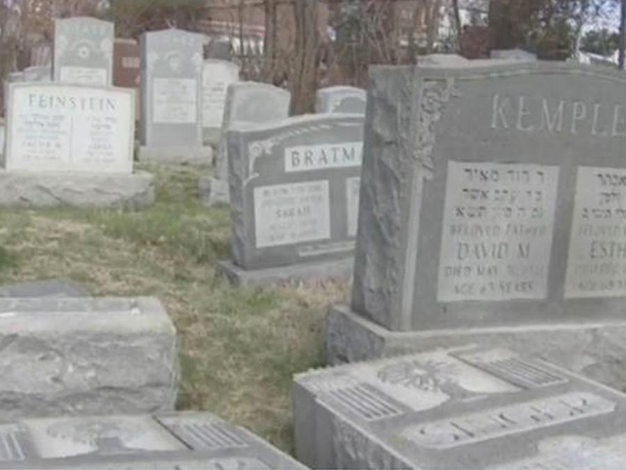 ¡Vandalizaron un cementerio judío en Filadelfia!