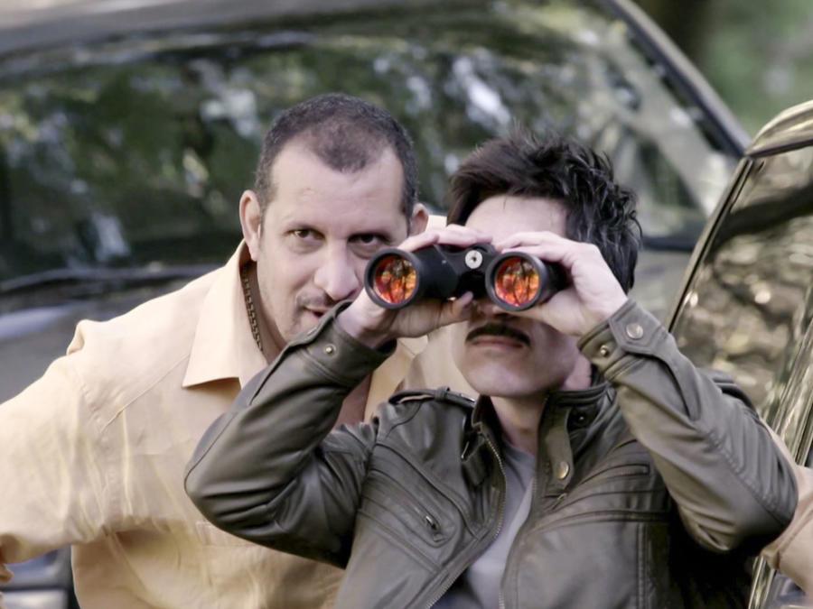 Mauricio Ochmann y Fernando Solórzano en El Chema