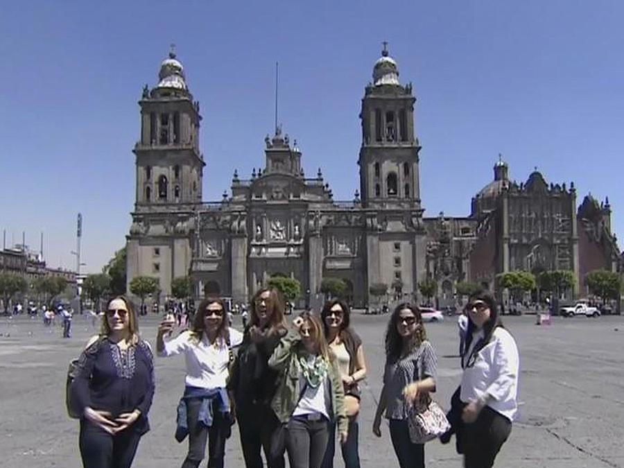 mexicanos vacacionan en su pais
