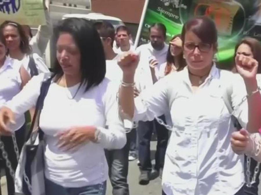 protestan en caracas