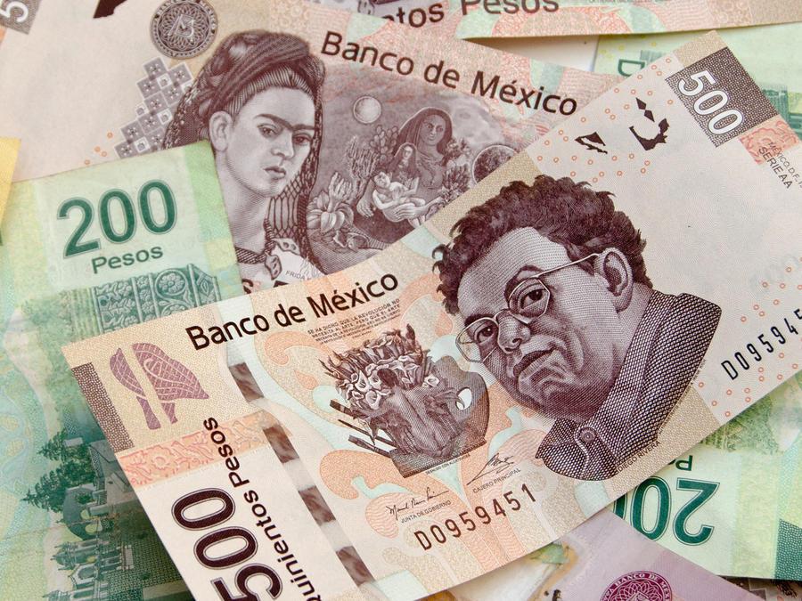 billetes mexicanos