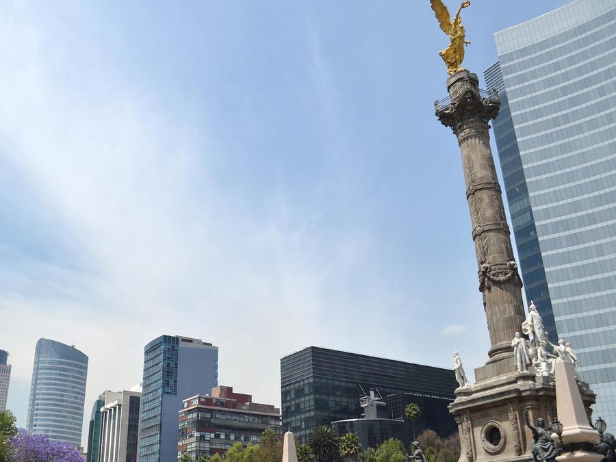 Los suelos de Ciudad de México se hunden silenciosamente