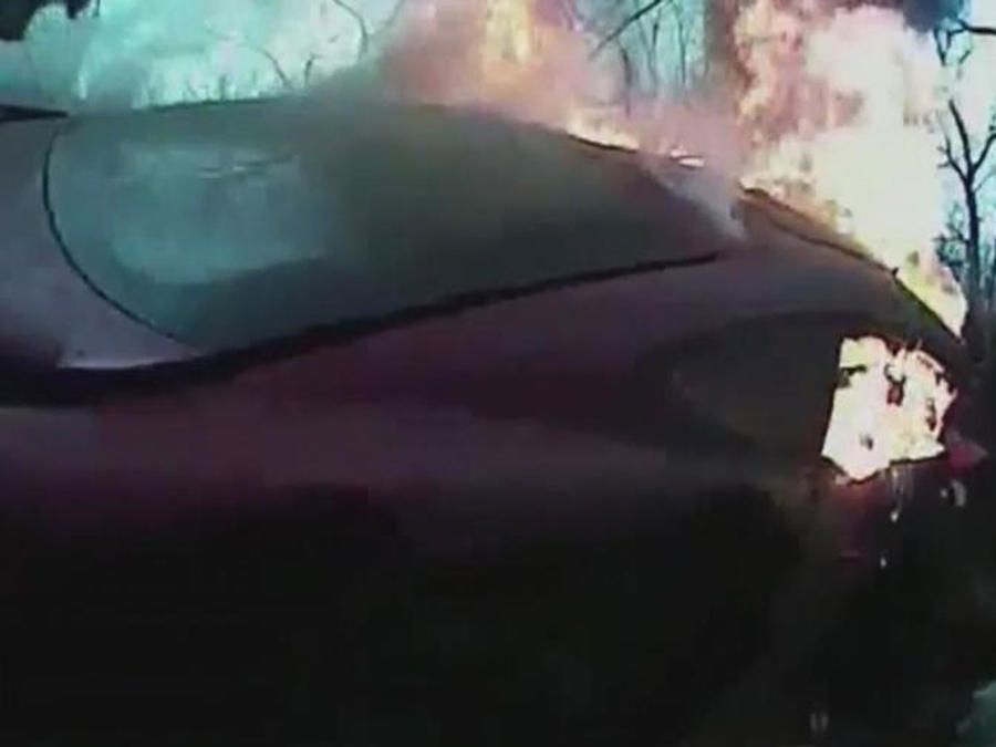 policia rescata a chofer