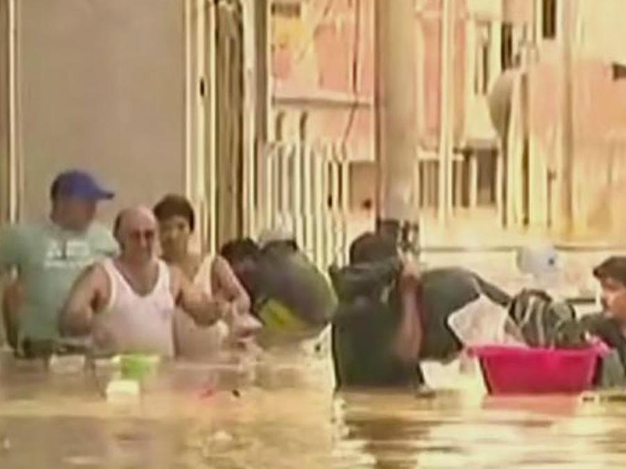 siguen inundaciones en peru