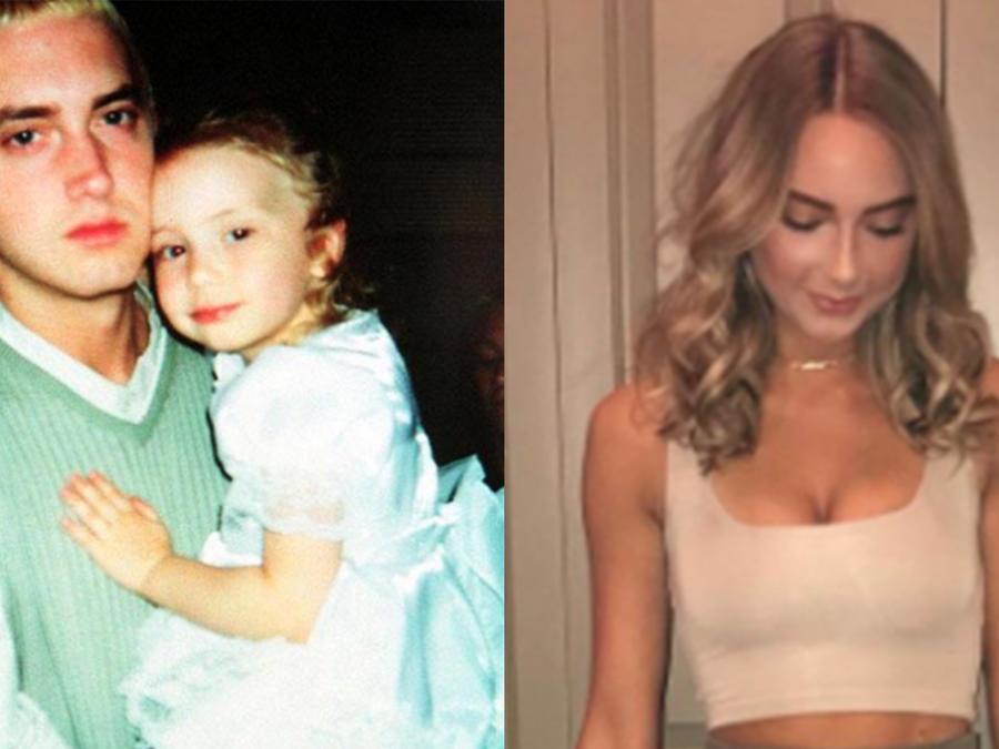 """Hailie, la """"baby girl"""" de Eminem ya no es una niña."""