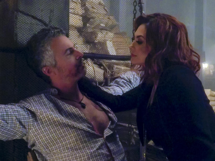 Aracely Arámbula y Diego Soldano en La Doña