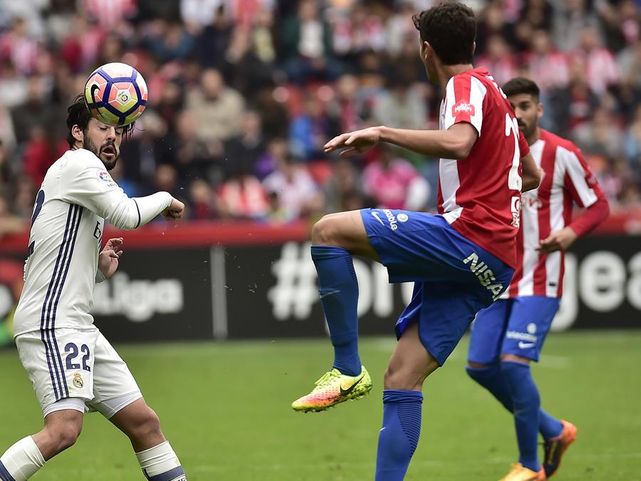 Real Madrid sufre para superar al Sporting Gijón en La Liga