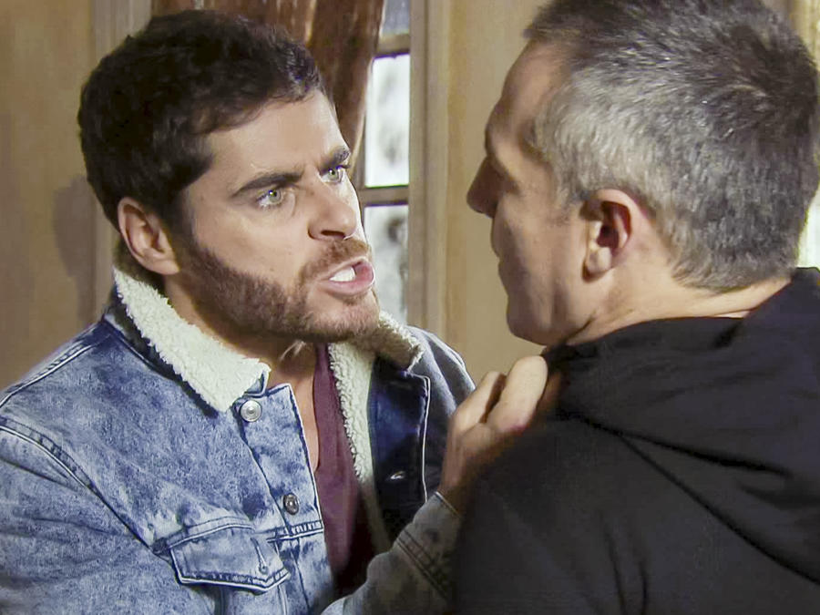 José María Galeano, Braulio, furioso, La Doña