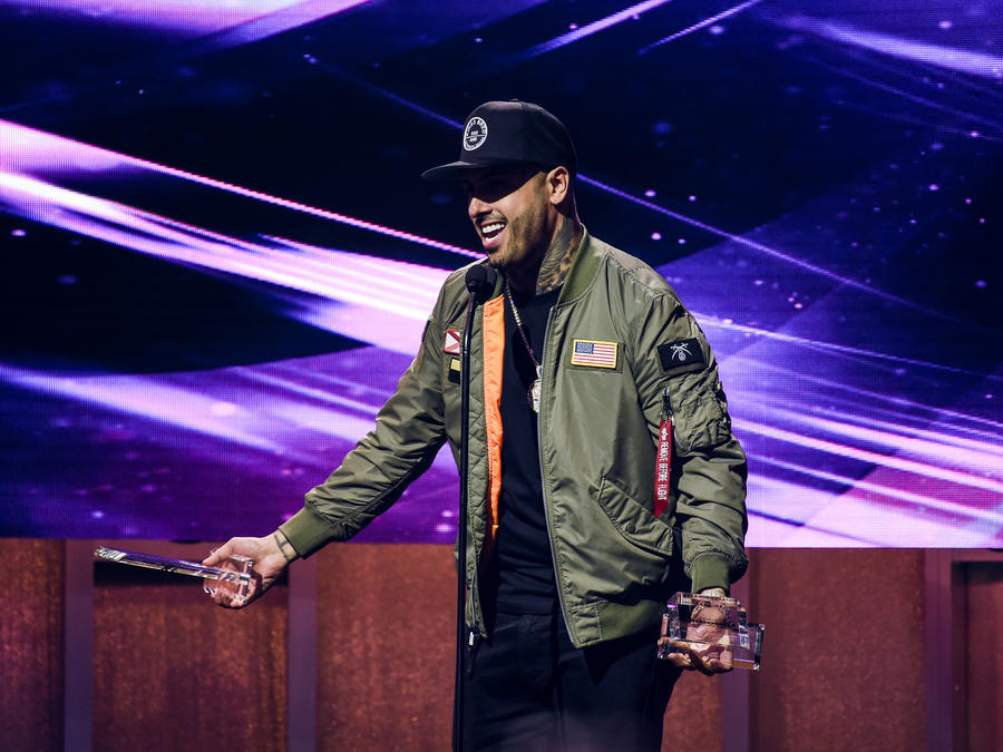 Nicky Jam en Premios Billboard 2017