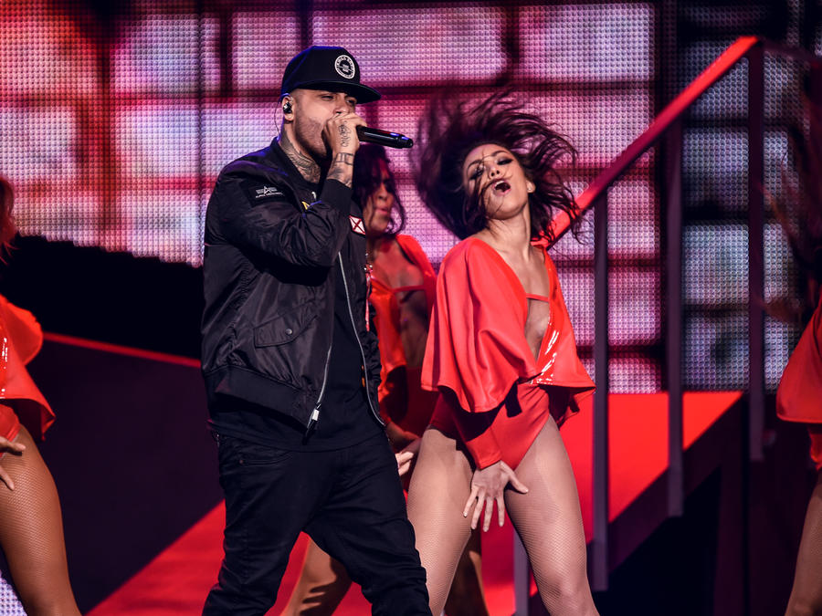 Nicky Jam en Premios Billboard 2017