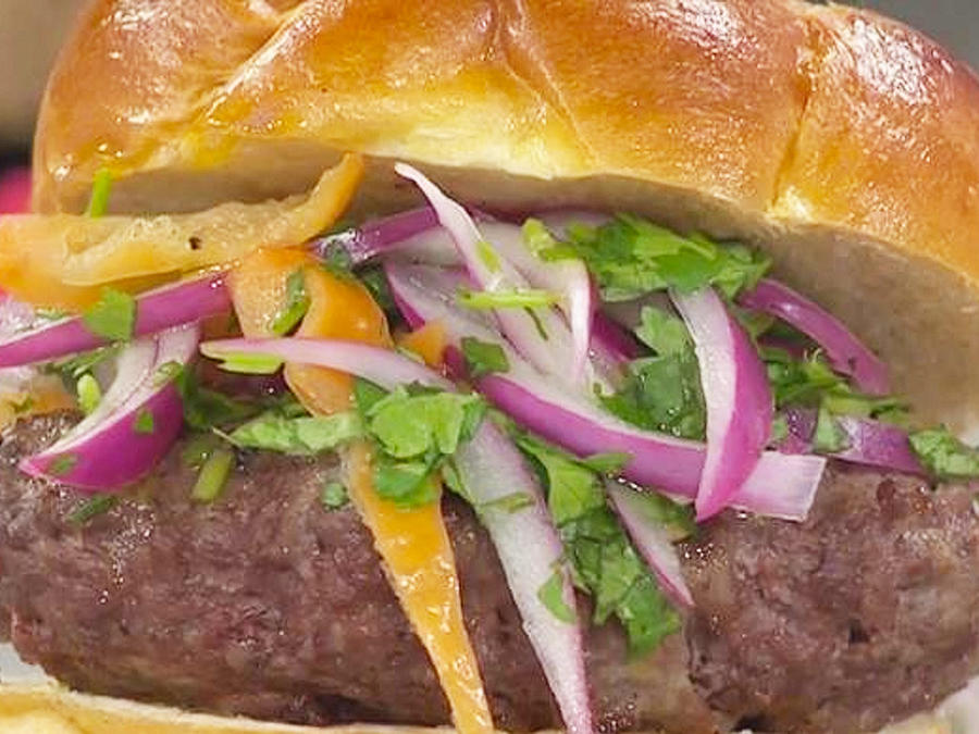 hamburguesa rellena