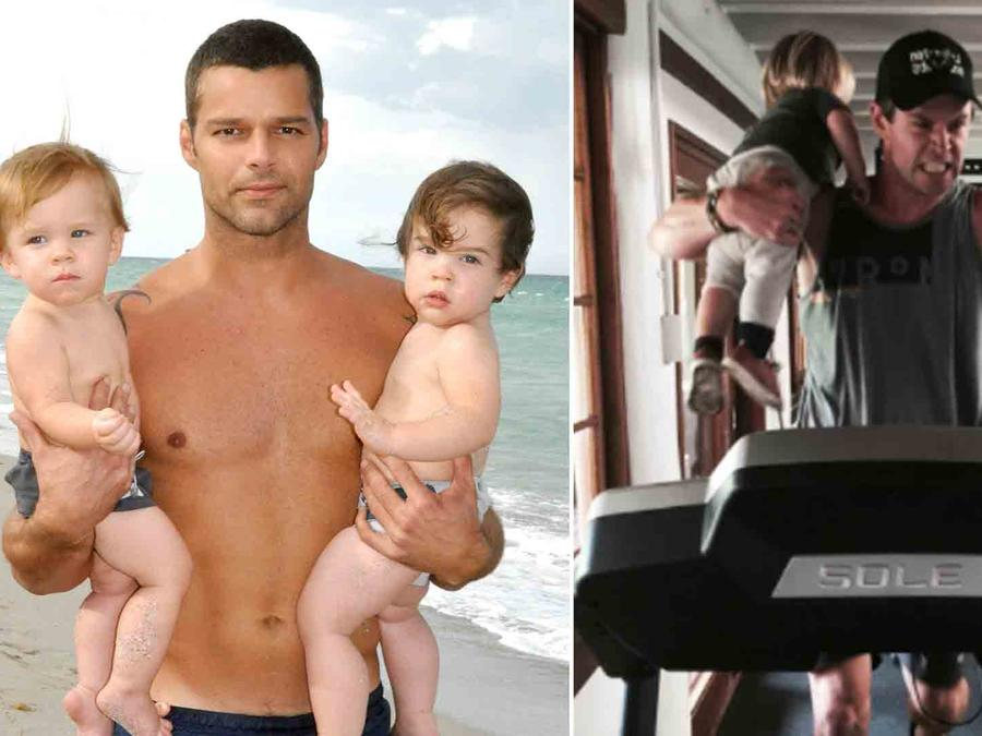Ricky Martin, Chris Hemsworth
