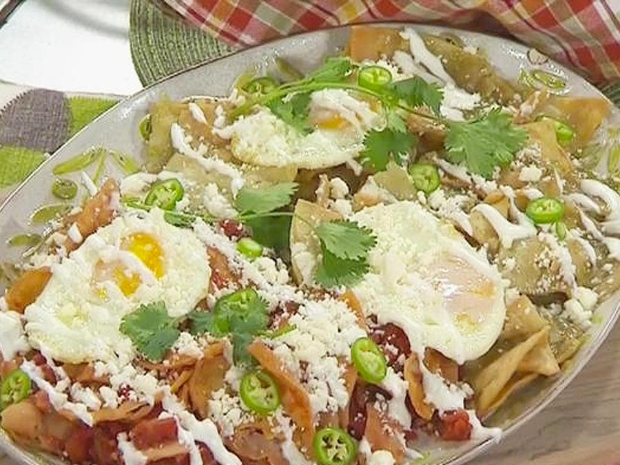 receta enchiladas