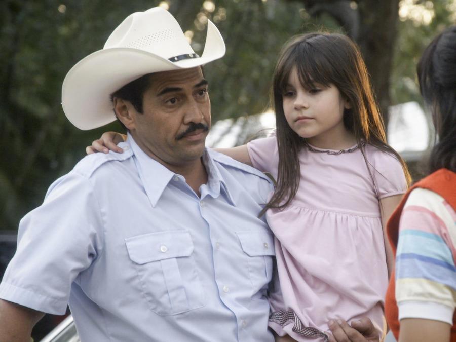 Gabriel Porras y Samadhi Zendejas en Mariposa De Barrio