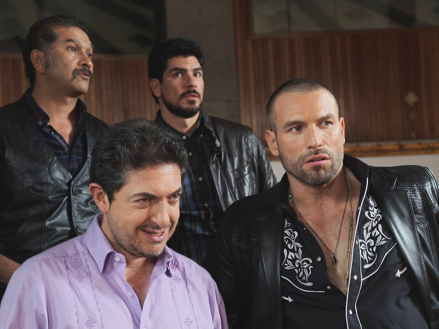 Rafael Amaya, Aurelio Casillas, molesto, El Señor de los Cielos