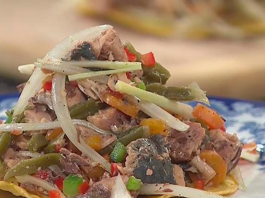 Recetas de cocina: Una receta para cuando no hay luz, Tostadas con Sardinas y Vegetales