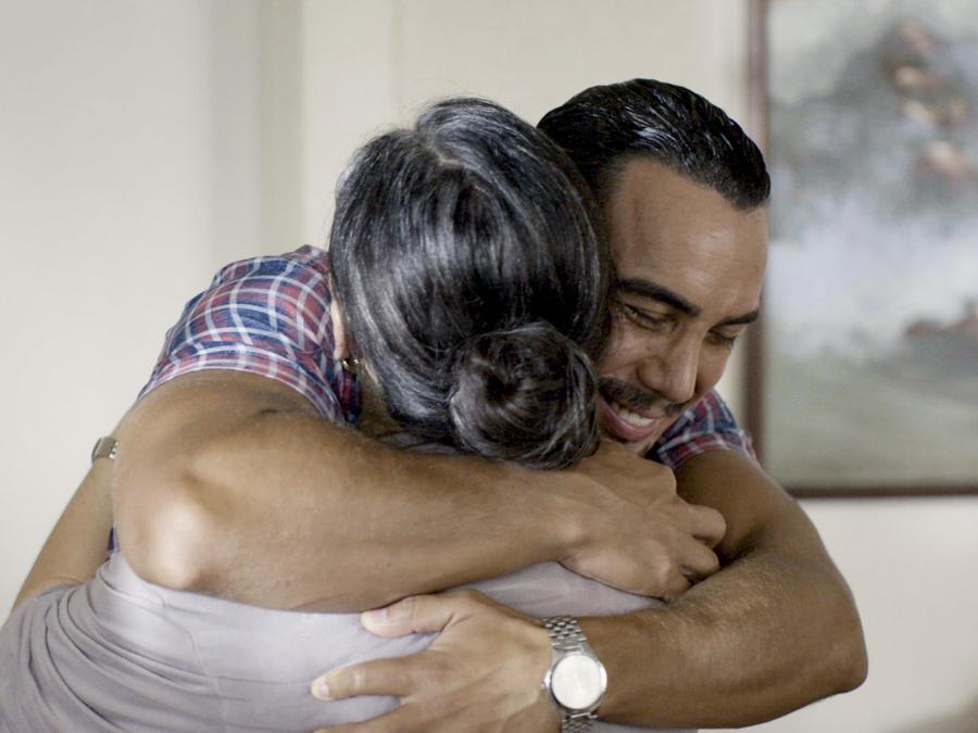 Tony Garza y Itzel Ramos en Mariposa de Barrio