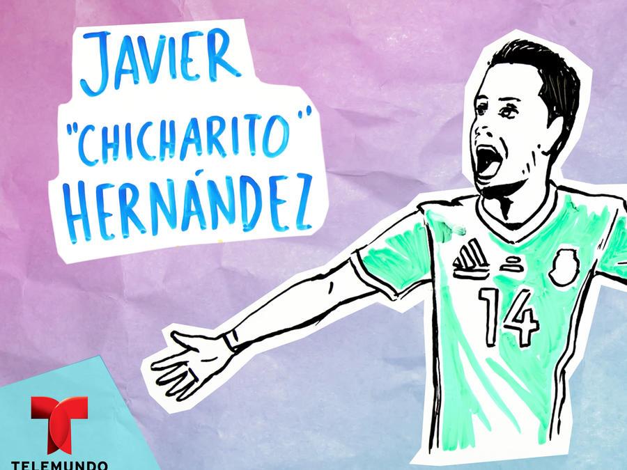 """Ilustrando mi vida: Javier """"Chicharito"""" Hernández"""