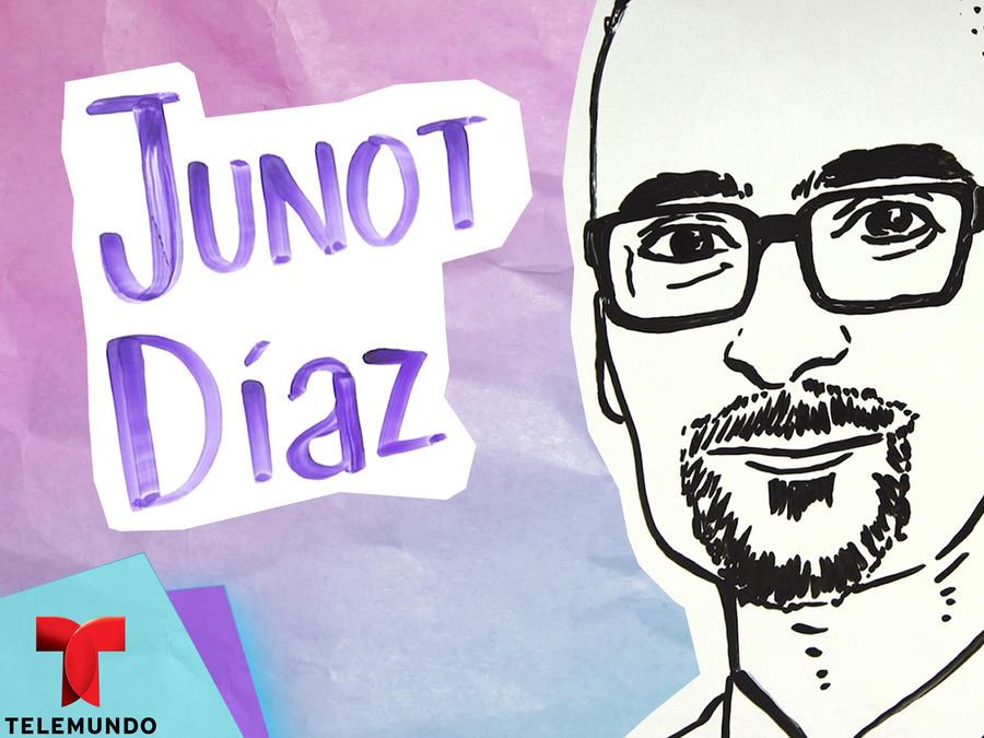 Ilustrando mi vida: Junot Díaz