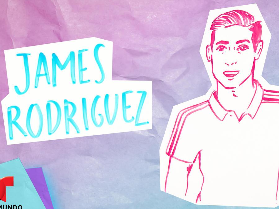 Ilustrando mi vida: James Rodríguez