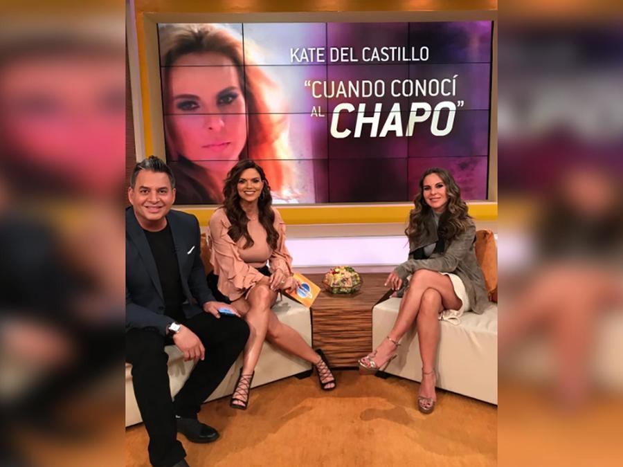 """Kate del Castillo llega para contarnos cómo es el documental """"Cuando conocí al Chapo"""""""