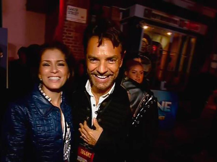 Llevamos a Eugenio Derbez y Alessandra Rosaldo al Laberinto del Terror, ¡tremendo susto!