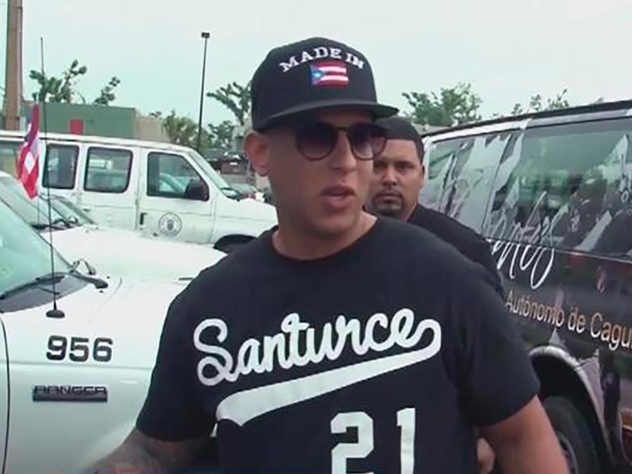 Daddy Yankee llevó ayuda a los damnificados del Huracán María en Puerto Rico