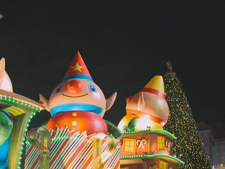 La magia de Harry Potter se apodera de los festejos de Navidad en los parques de Universal