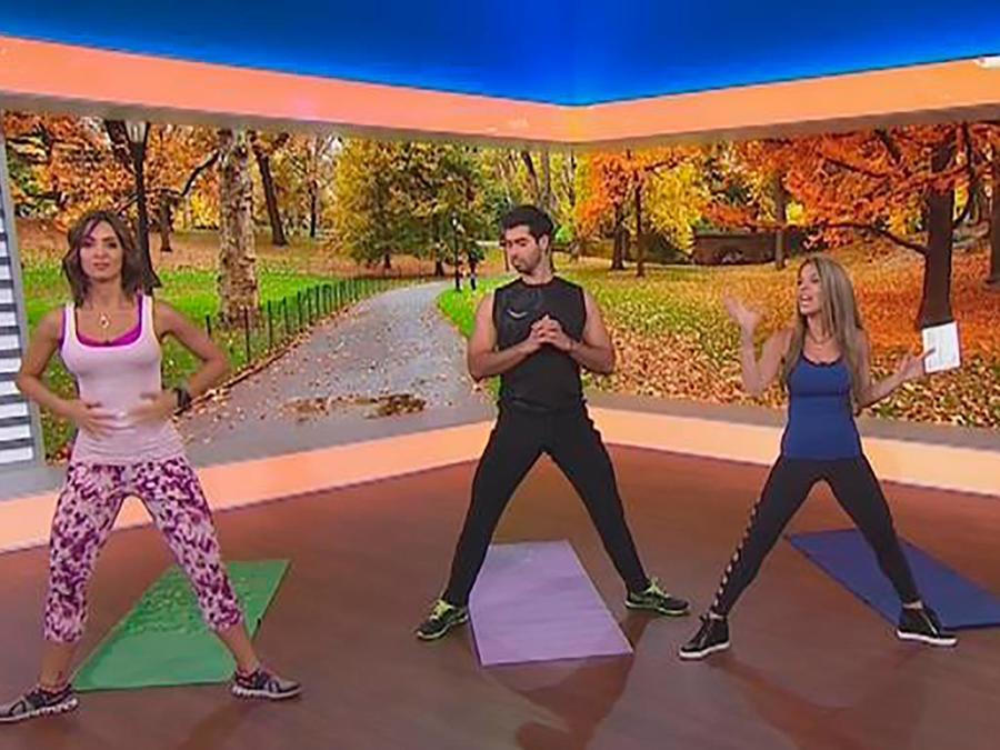 Te enseñamos los ejercicios ideales para quemar las calorías de la cena de Thanksgiving