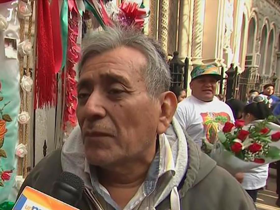 Te mostramos cómo cientos de devotos de la Virgen de Guadalupe la celebran en Nueva York