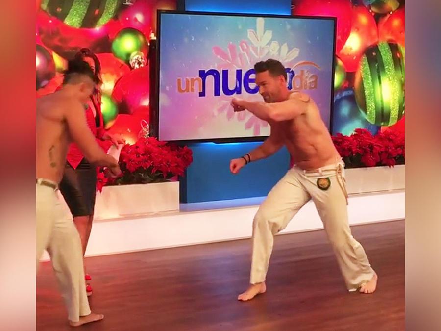 practica de capoeira