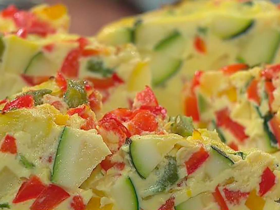 Recetas de cocina: Cómo hacer una deliciosa Frittata de Vegetales