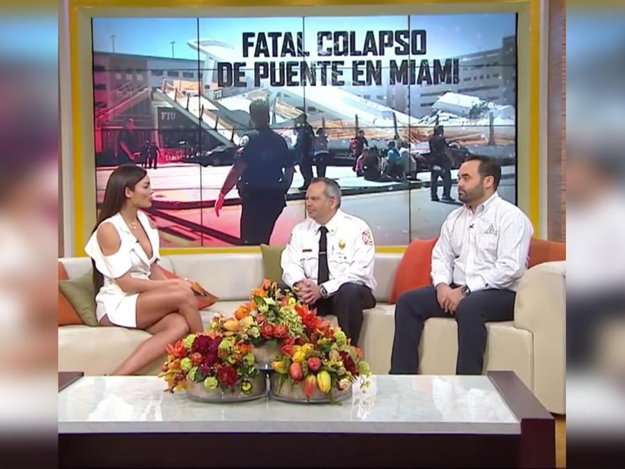 Néstor Cueto, ingeniero civil, nos explica por qué se desplomó el puente en Miami