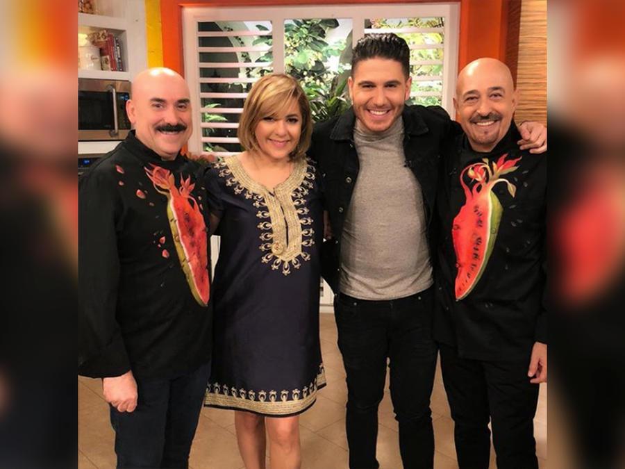 Los chefs Jaime Martin y Ramiro Arvizu sorprenden a Ana María Canseco en su despedida