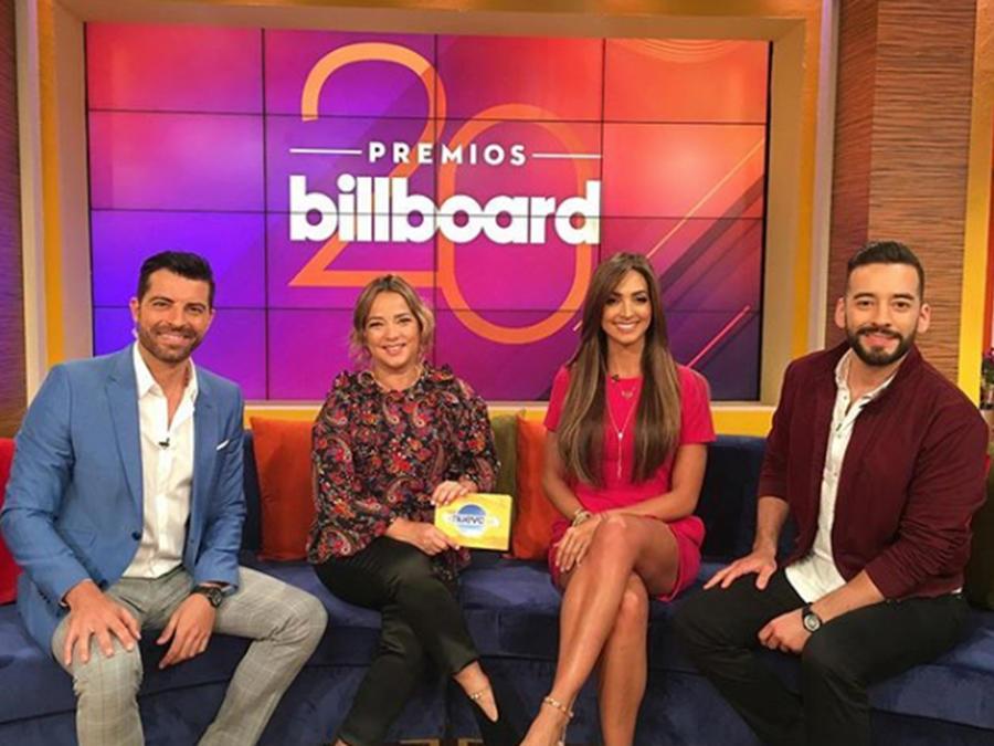 Raúl Méndez, De La Ghetto y Erika Ender nos cuentan sus sensaciones antes de los Billboard
