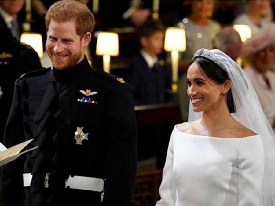 Te mostramos los mejores momentos de la boda real entre Meghan y Harry