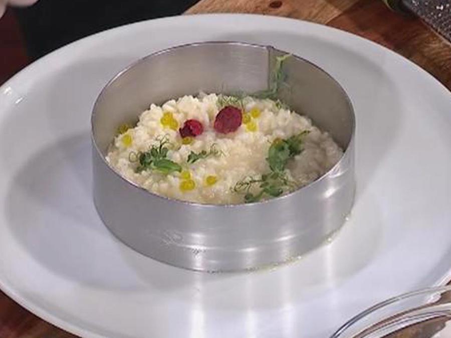 Carne con risotto