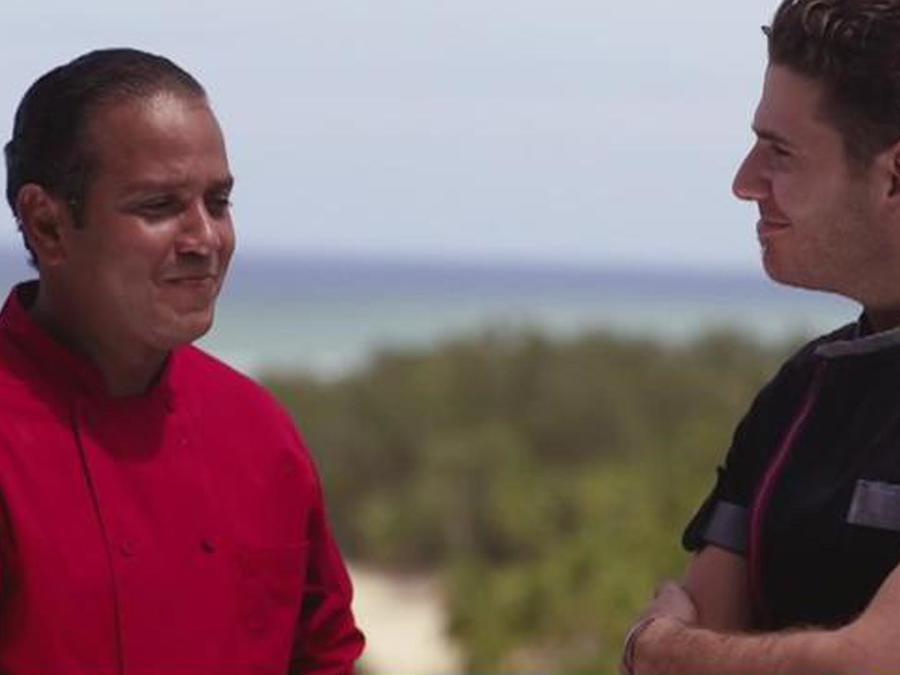 Luis Enríquez y Chef James
