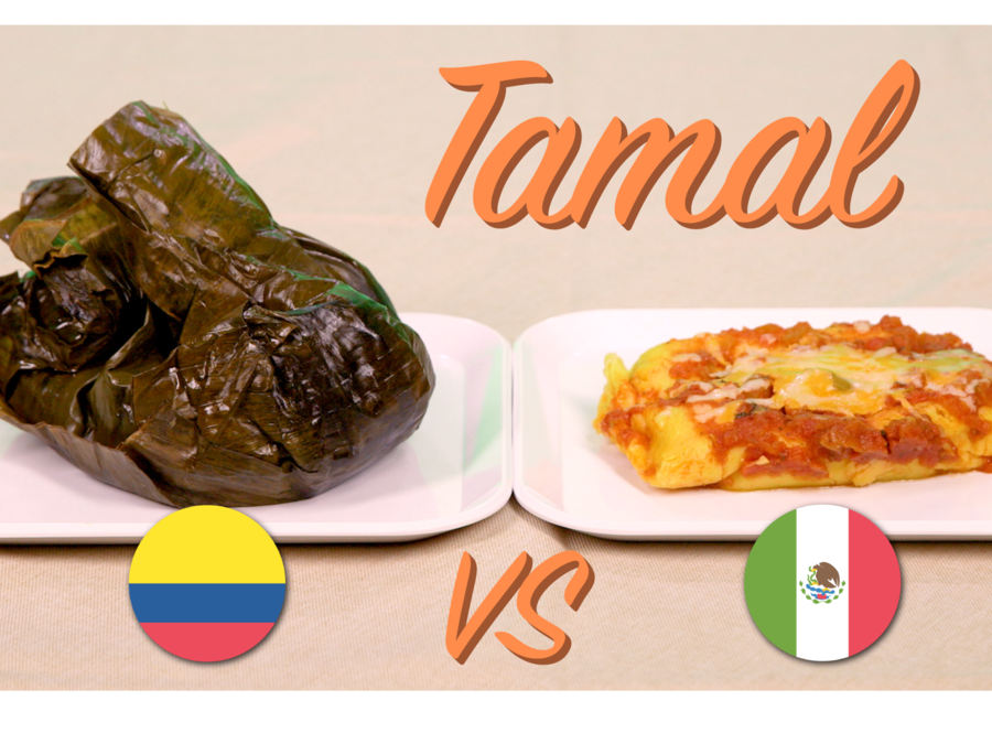 Colombian tamal, Mexican tamal
