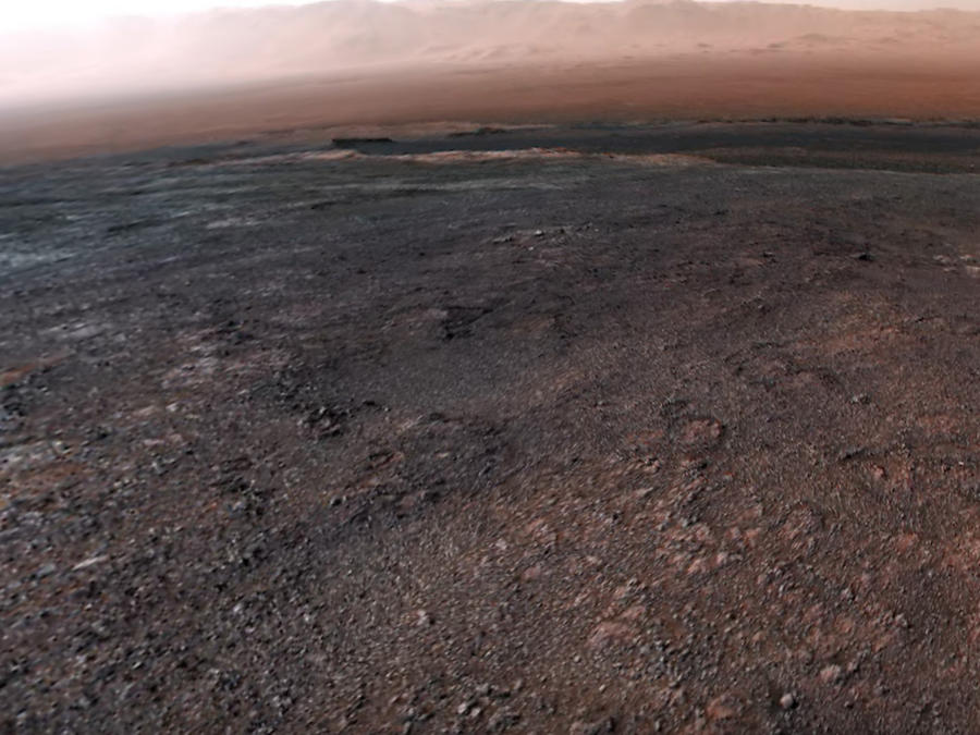 Curiosity. Mars