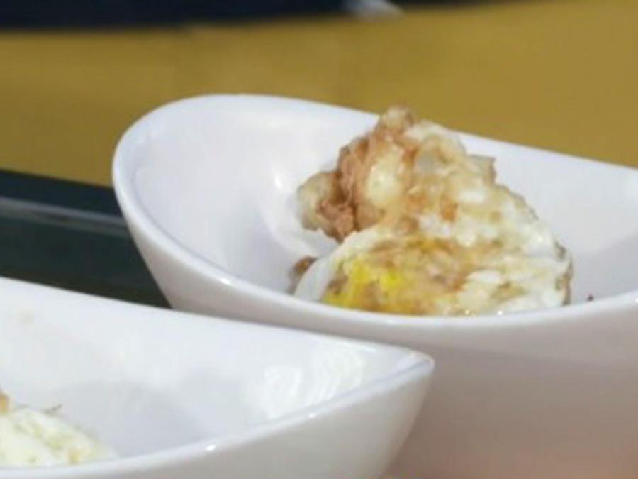 Huevo frito de soei