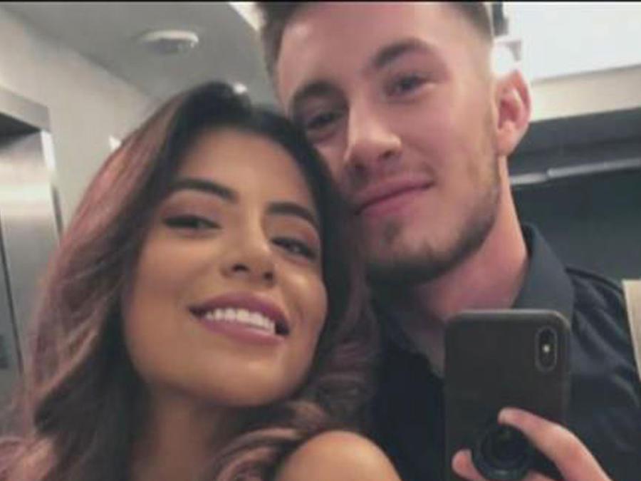 Hombre transgénero y su novia