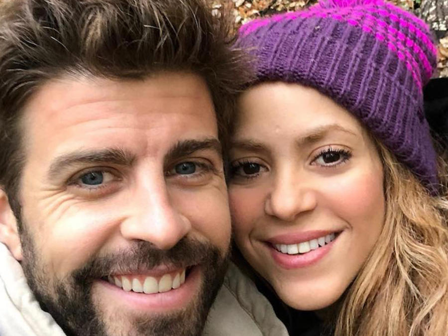Foto de Shakira y Gerard Pique
