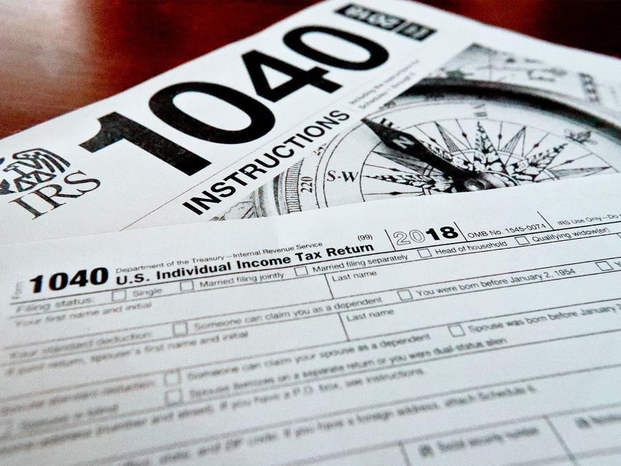 Formularios de impuestos