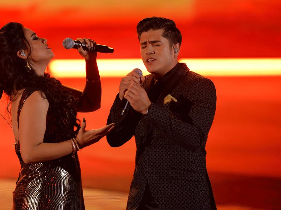 Lluvia Vega y Ruben Sandoval