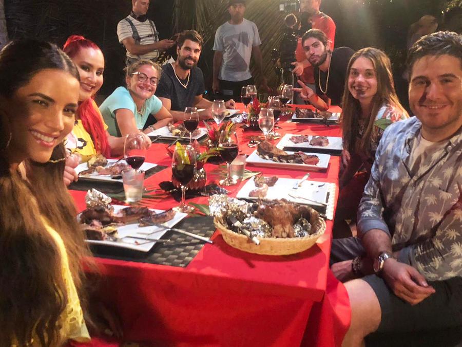 Cena de MasterChef Latino en Exatlón Estados Unidos