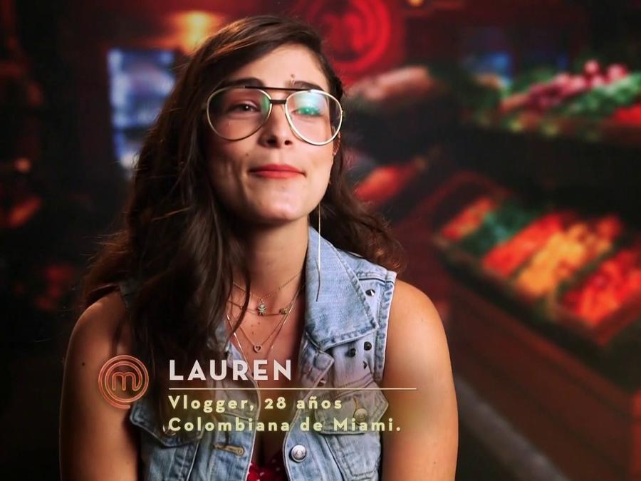 Lauren Arboleda es una mamá youtuber que quiere triunfar en MasterChef Latino