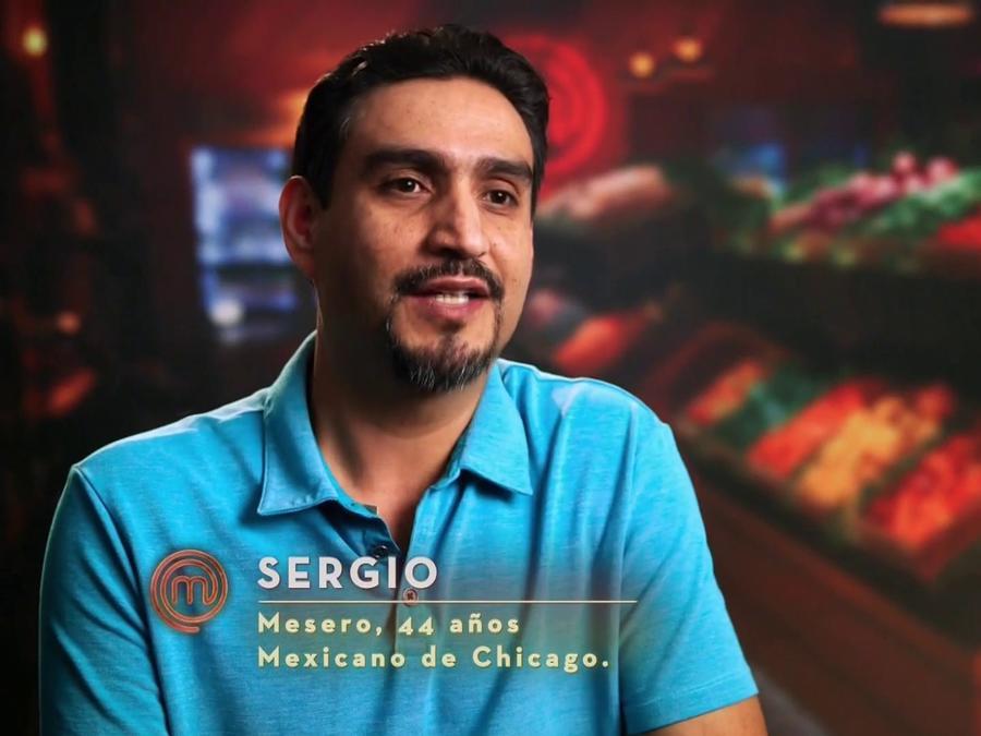 Sergio quiere estar en MasterChef Latino