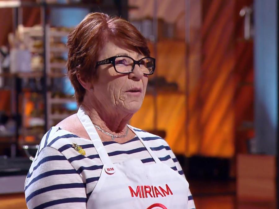 Miriam sigue sorprendiendo con su sazón