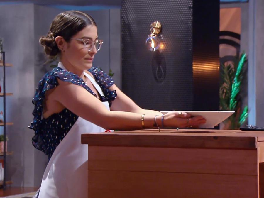Lauren deslumbró a los jueces en el reto creativo